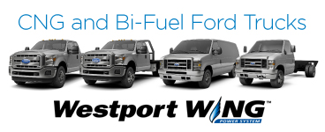 CNG and Bi-Fuel Ford Trucks