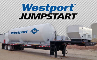 Westport™ JumpStart Mobile Refueling Station